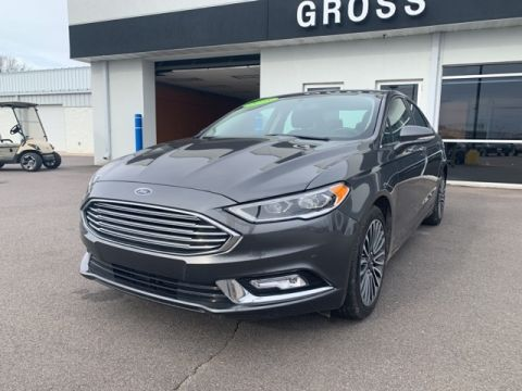Pre-Owned 2018 Ford Fusion Platinum